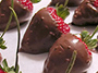 Strawberries Covered with Chocolate